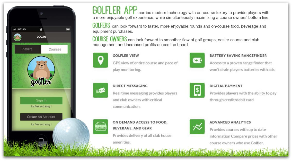 Golf dating app