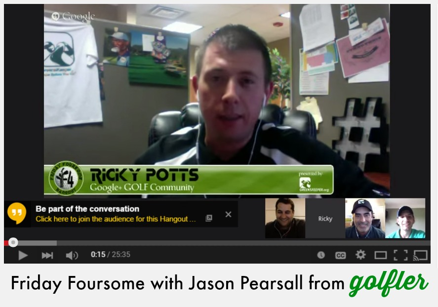 Friday Foursome with Jason Pearsall from Golfler