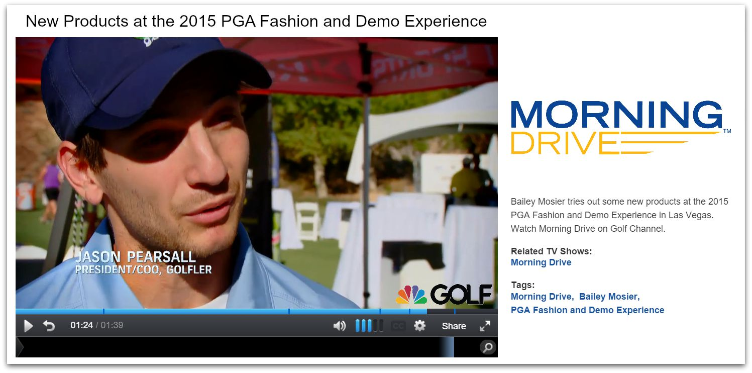 golf channel interview