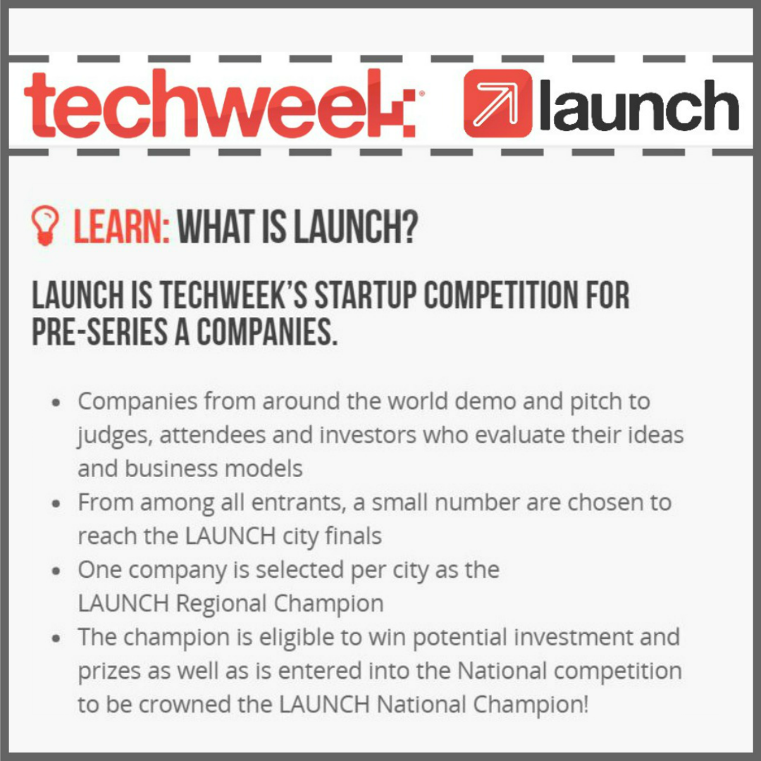 GOLFLER TO COMPETE IN TECHWEEK CHICAGO LAUNCH COMPETITION ON THUR JUNE 23